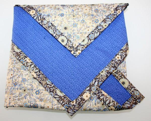 afikomen cloth folded and ready for hiding