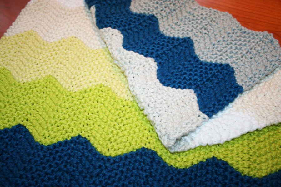 Wrapped In Baby Soft Chevron Knit