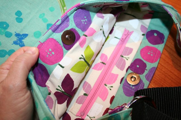 You Sew, Girl! | Large Tote 01 - magnetic clasp