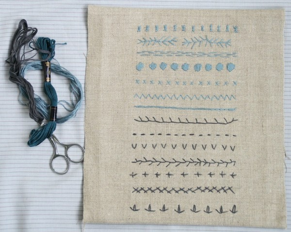 Embroidery  - Modern Sampler