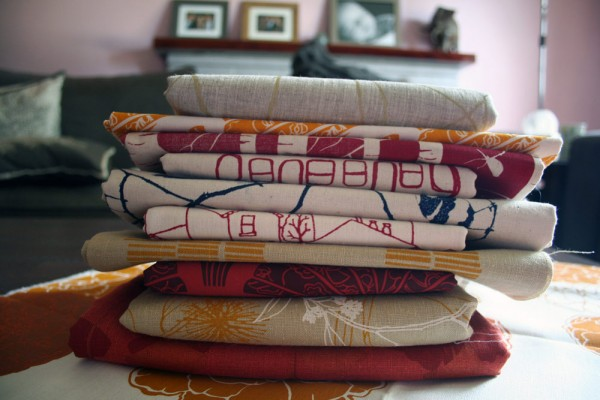 my ink & spindle fabric stash