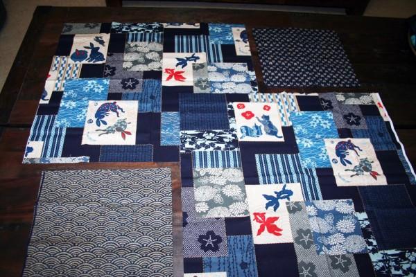 wabi sabi Japanese fabric