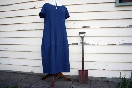 Completed :: Tessuti Eva Dress – à la Downton Abbey perhaps?