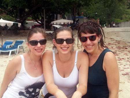 these are our three stunning daughters - Devorah, Gita and Sarah